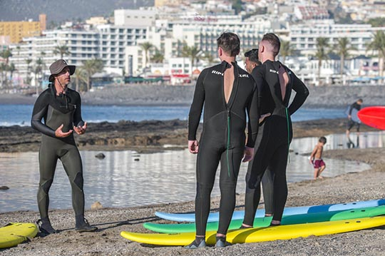Franz Surf School Tenerife. Rent a surf board